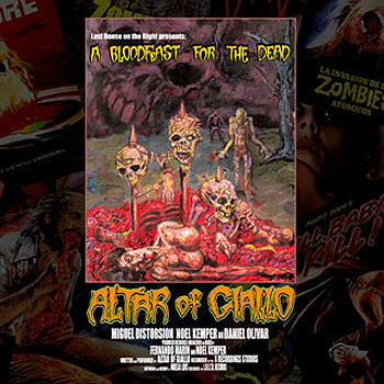 ALTAR OF GIALLO «A Bloodfeast For the Dead»