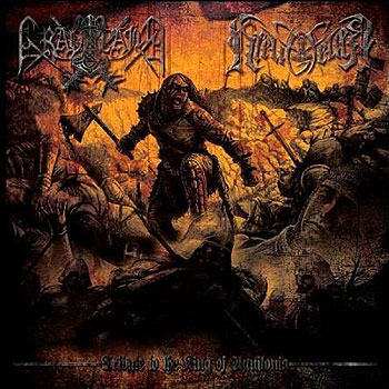 "GRAVELAND/KREUZFEUER ""Tribute to King of Aquilonia"""