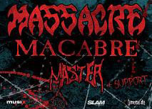 MASSACRE cancelan su gira europea