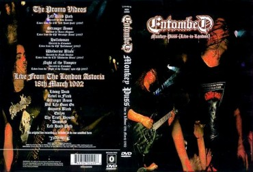 ENTOMBED – Monkey Puss (Live in London) 1992 [Full show]
