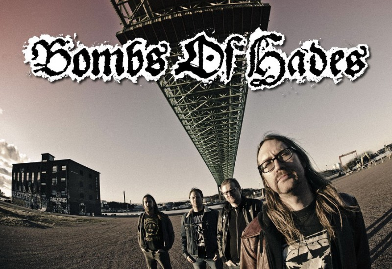"BOMBS OF HADES: ""Death metal sueco"""