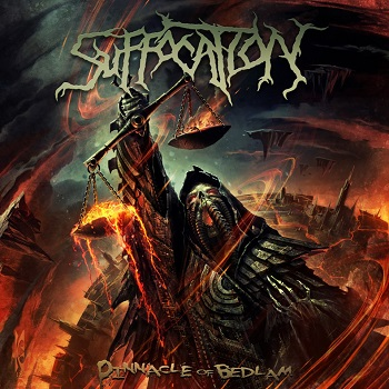 "SUFFOCATION ""Pinnacle of Bedlam"""