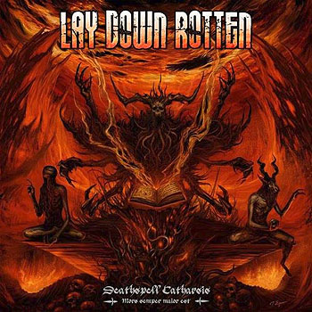 "LAY DOWN ROTTEN ""Deathspell Catharsis"""