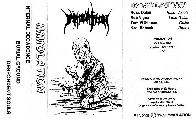 Immolation - Demo89-dest