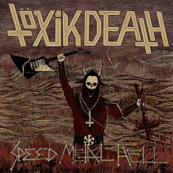 TÖXIK DEATH (nor) Album Cover