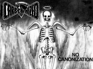 "CARBONIZED ""No Canonization"" [7″EP '90]"