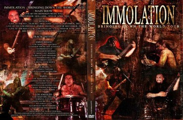 IMMOLATION – Bringing Down the World 2003 [Full show]