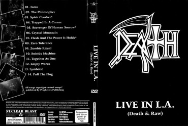 DEATH – Live in L.A. (Death & Raw) 2001 [Full show]