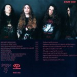 ELECTROCUTION- 1993- Inside the unreal (CD Back)
