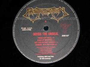 ELECTROCUTION- 1993- Inside the unreal (Vinyl)