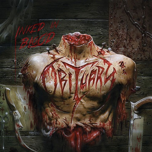 "OBITUARY ""Inked in Blood"""