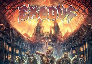 "EXODUS muestran la portada de ""Blood In, Blood Out"""