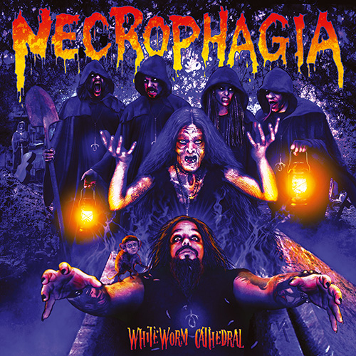 """NECROPHAGIA """"Whiteworm Cathedral"""""""