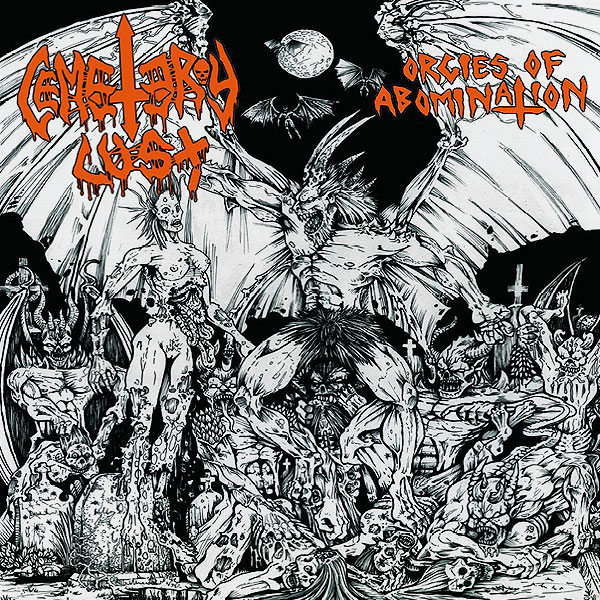 """CEMETERY LUST """"Orgies of Abomination"""""""