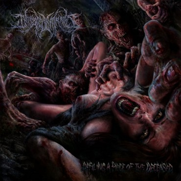 "INFESTED ENTRAILS ""Defiling a Piece of the Deceased"""