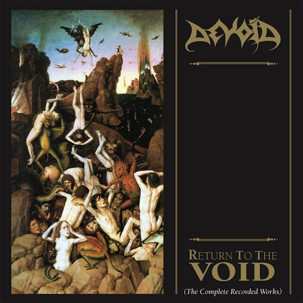 "DEVOID ""Return to the Void (The Complete Recorded Works)"""