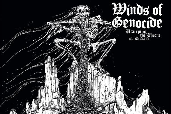 "WINDS OF GENOCIDE publican en streaming su album ""Usurping The Throne Of Disease"""