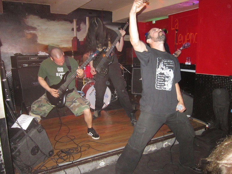 DEHUMAN + GRAVECRUSHER + RIOT OF VIOLENCE + AMARGORE, Madrid (Spa) – 23.04.2015