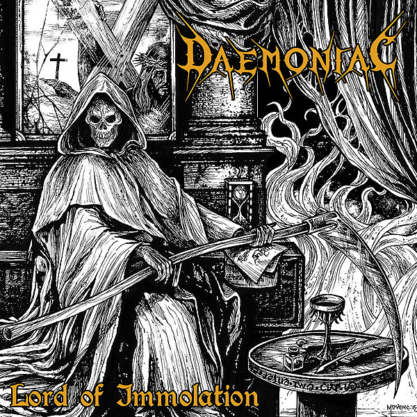 DAEMONIAC (ita) Album Cover