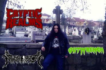 Uriel Aguillon (CRYPTIC REALMS): Es Death Metal clásico, puro y honesto