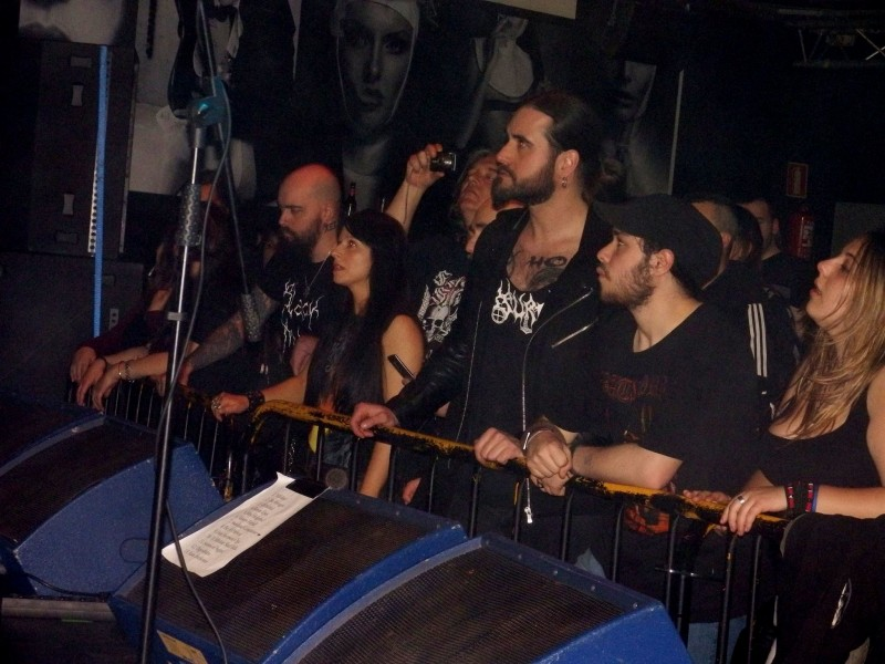 THYRFING + SURVAEL + ARSON – Oviedo (spa), Sala Sir Lauren's (15.04.2016)