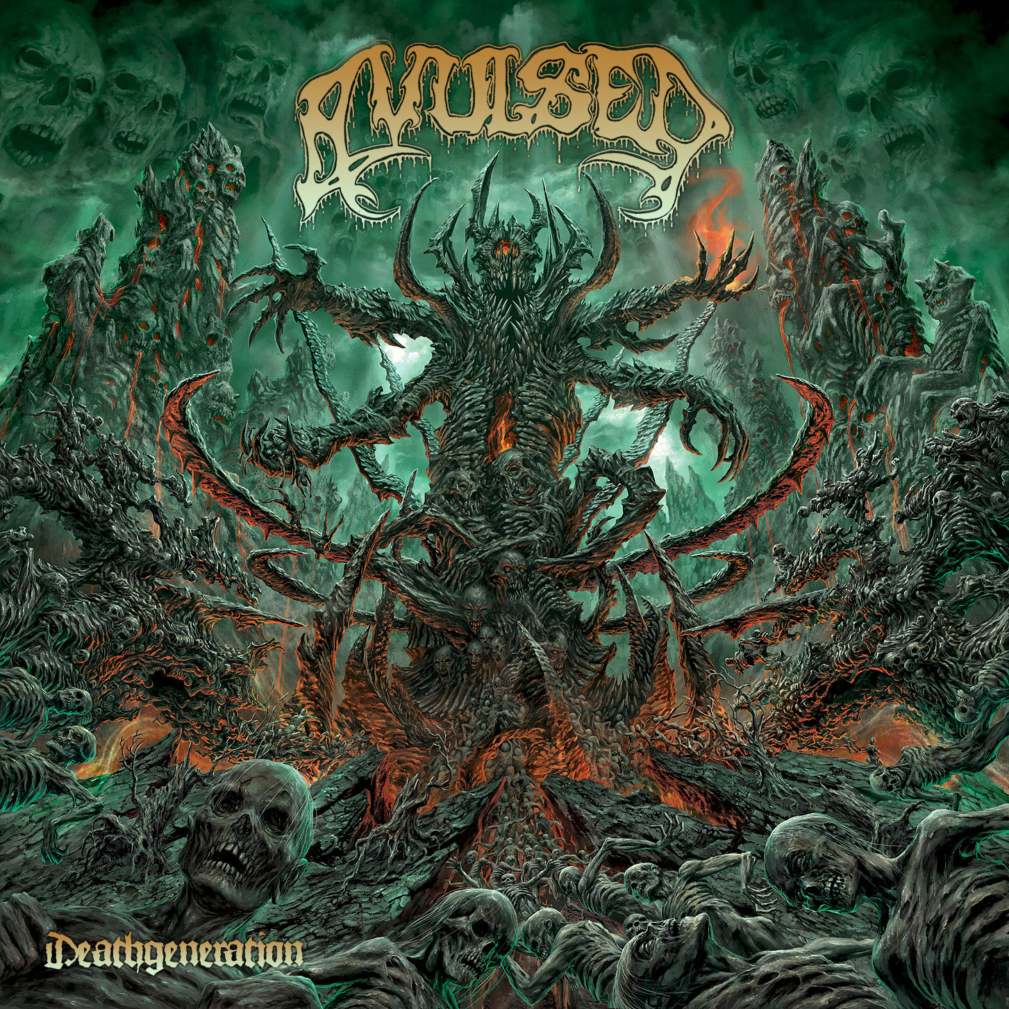 AVULSED (esp) Album Cover