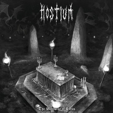 "HOSTIUM ""The Bloodwine of Satan"""