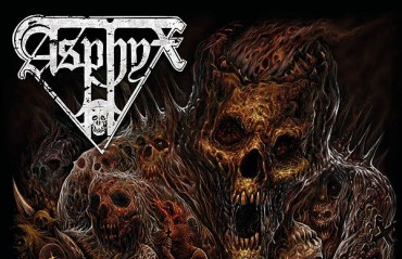 "Primer tema en streaming del nuevo disco de ASPHYX , ""Incoming Death"""