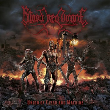 BLOOD RED THRONE «Union of Flesh and Machine»