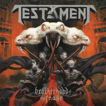 "TESTAMENT ""Brotherhood of the Snake"""
