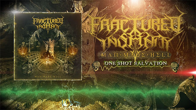 Los belgas FRACTURED INSANITY lanzan lyric-video!