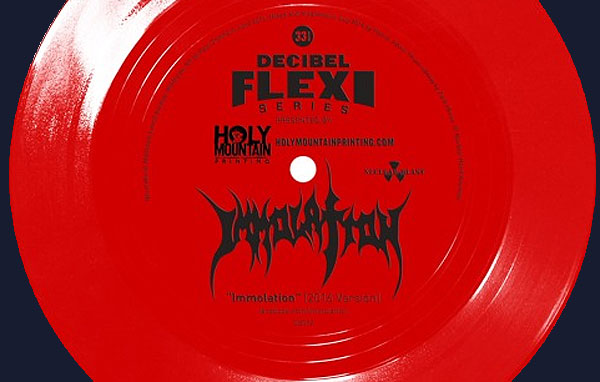 IMMOLATION regraban un tema de la 1ª demo para un flexi-7″EP de la revista Decibel Magazine!
