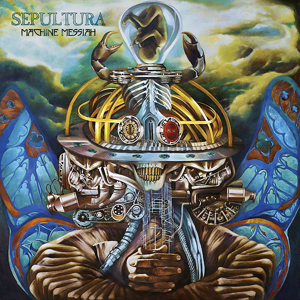 "SEPULTURA ""Machine Messiah"""